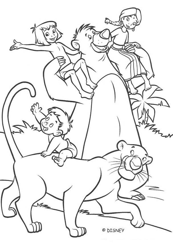 THE JUNGLE BOOK 2 Disney movie coloring books - RANJAN, SHANTI ...