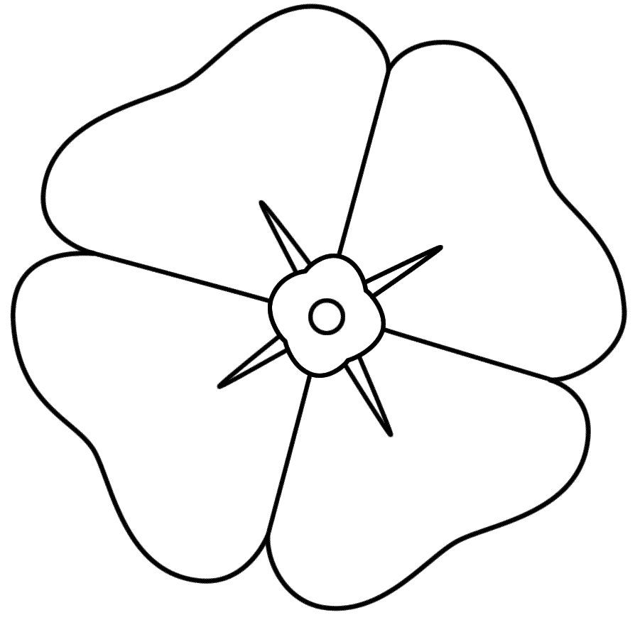 Coloring Pages Of Flowers To Print