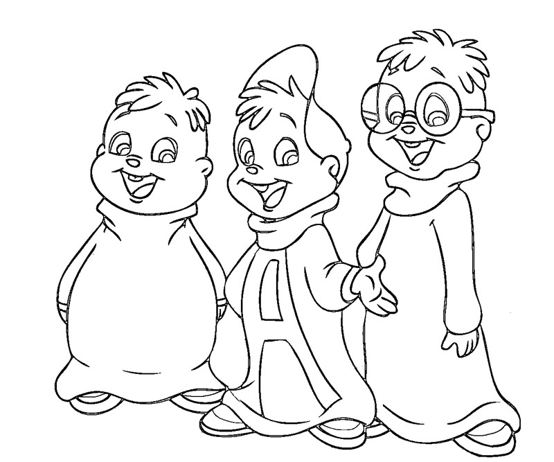 Alvin And The Chipmunks 5jpg Az Colorare