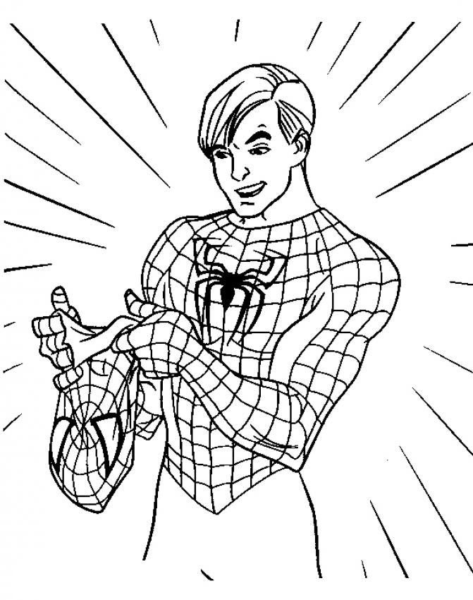 Disegni Da Colorare Gratis Spiderman 3 Fredrotgans