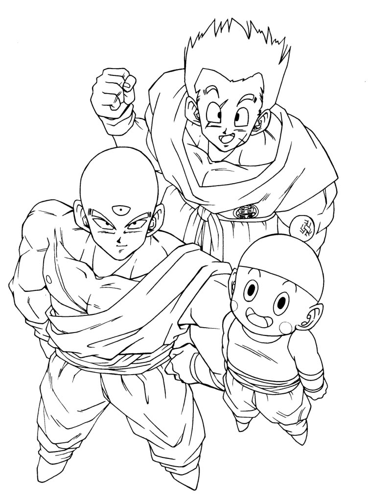 Dibujos Para Colorear De Dragon Ball Z Goku Tattoo Page 13