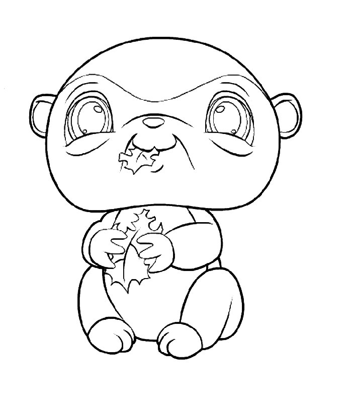Pop Pixies Pets Coloring Pages