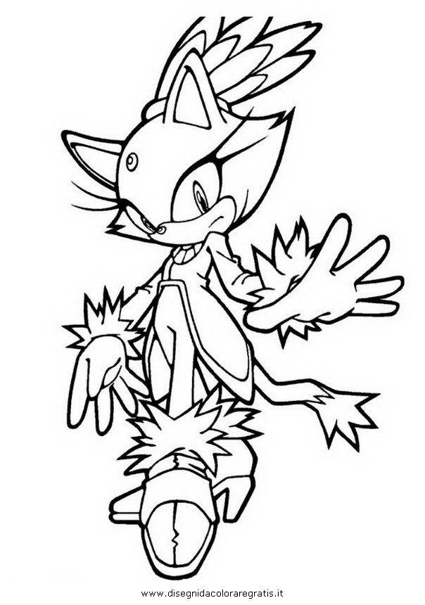 sonic colorare 6 Colouring Pages