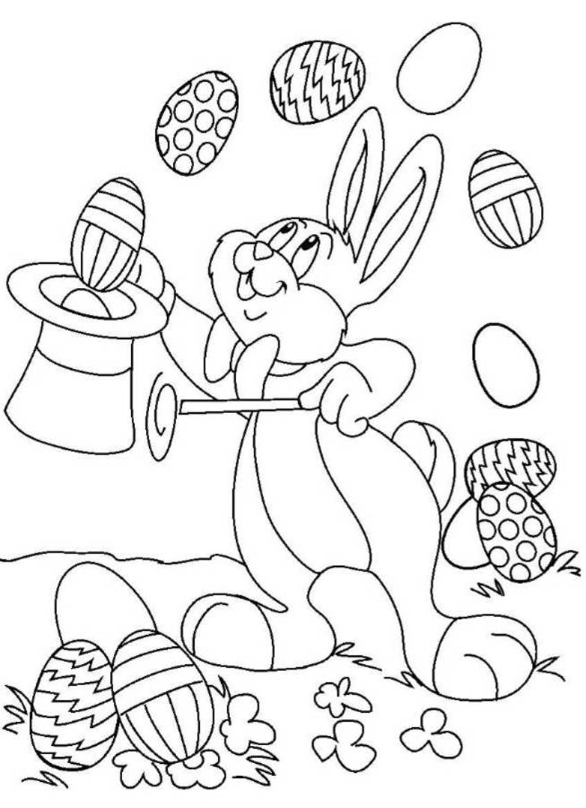 Free Printable Easter And Spring Coloring Pages