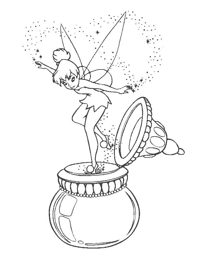 Flowers In A Vase Coloring Pages