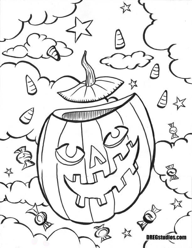 DREGstudios! The Artwork of Brandt Hardin: Coloring Pages for ...
