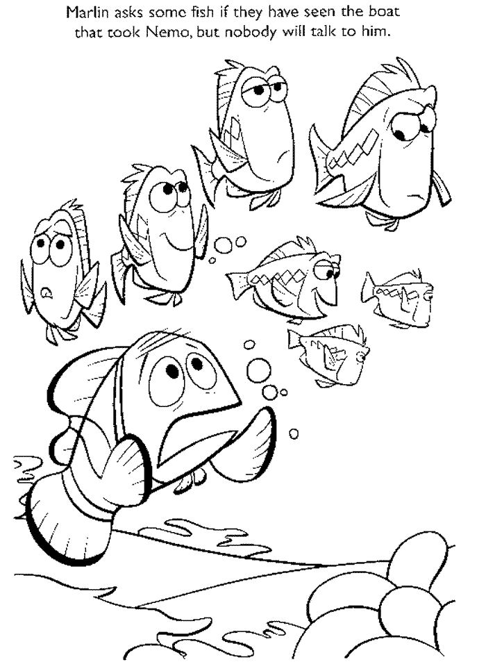 by nemo Colouring Pages (page 2)