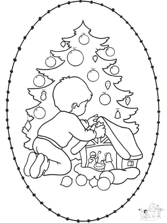 albero di natale Colouring Pages (page 2)