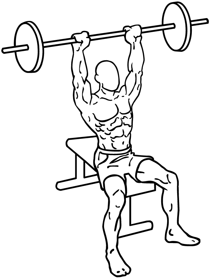 Seated-military-shoulder-press ...