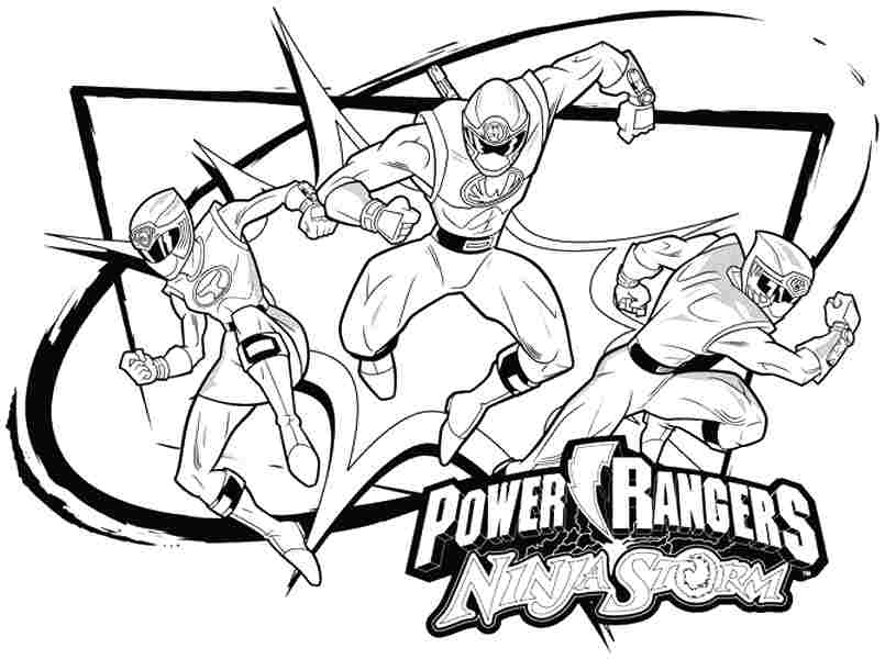 power ranger coloring pages printable - photo#27