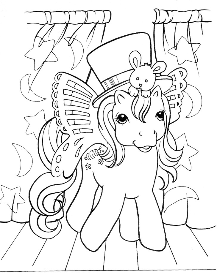 Stampare Disegni da Colorare. Serie My Little Pony. 3