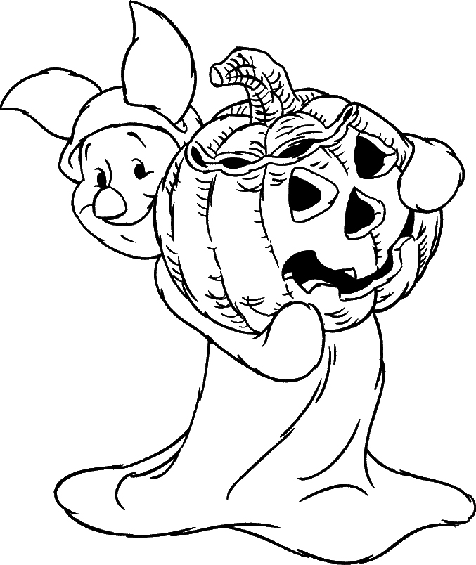 Free Printable Halloween Coloring Pages Disney - www.