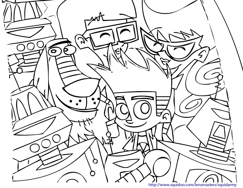Johnny Test Coloring Pages Crokky Coloring Pages