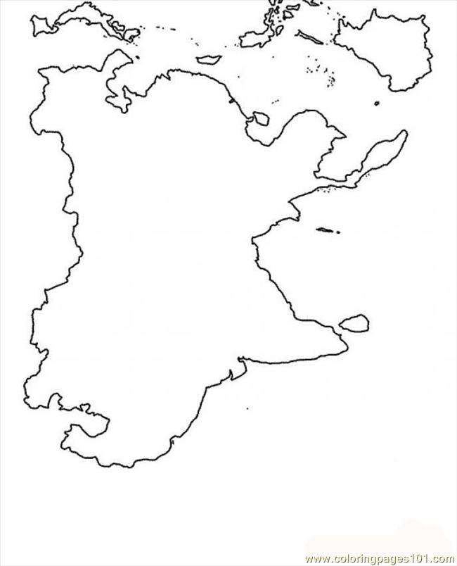 Coloring Pages Map Coloring Page Source 7ij (Countries > Greece ...