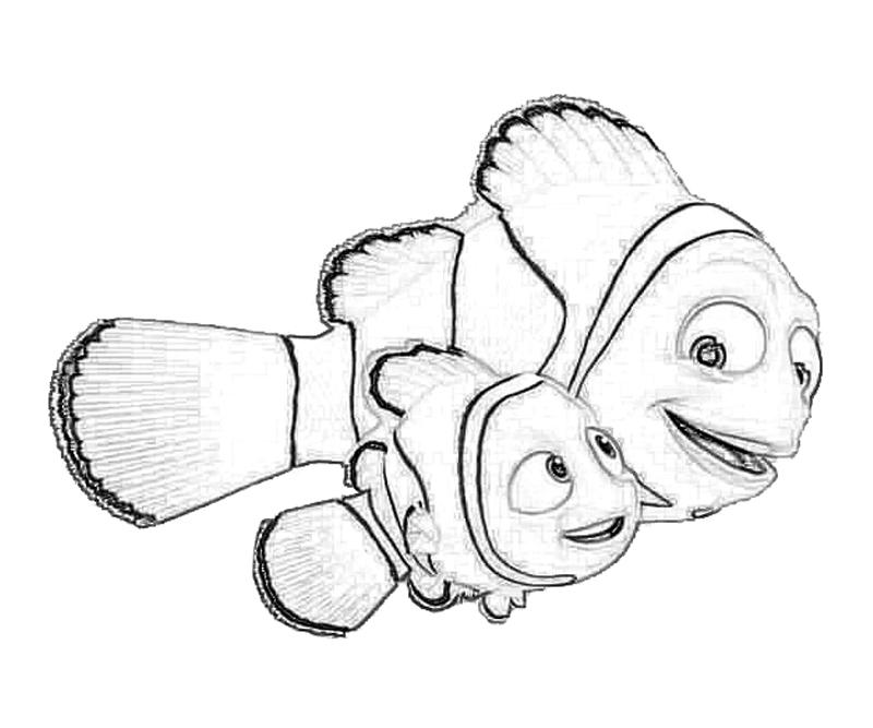 Free Printable Disney Finding Nemo Coloring Pages