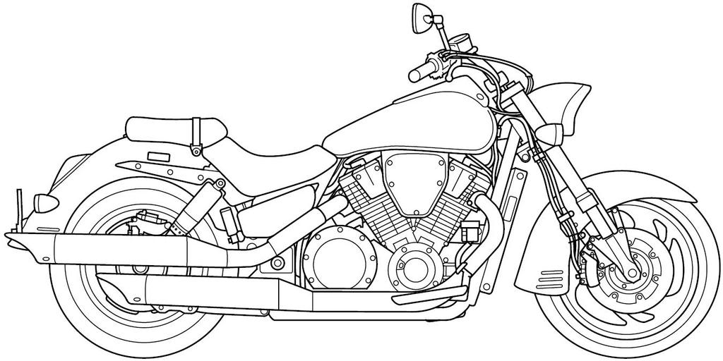 Line Drawing Motorcycle : Honda logo coloring pages sketch page