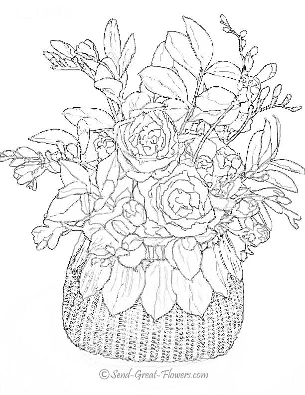 Flower Coloring Pages That You Can Print | Top Coloring Pages