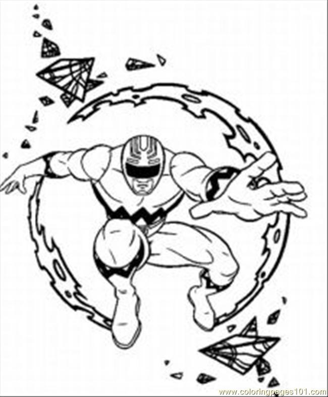 power rangers megazord Colouring Pages (page 2)