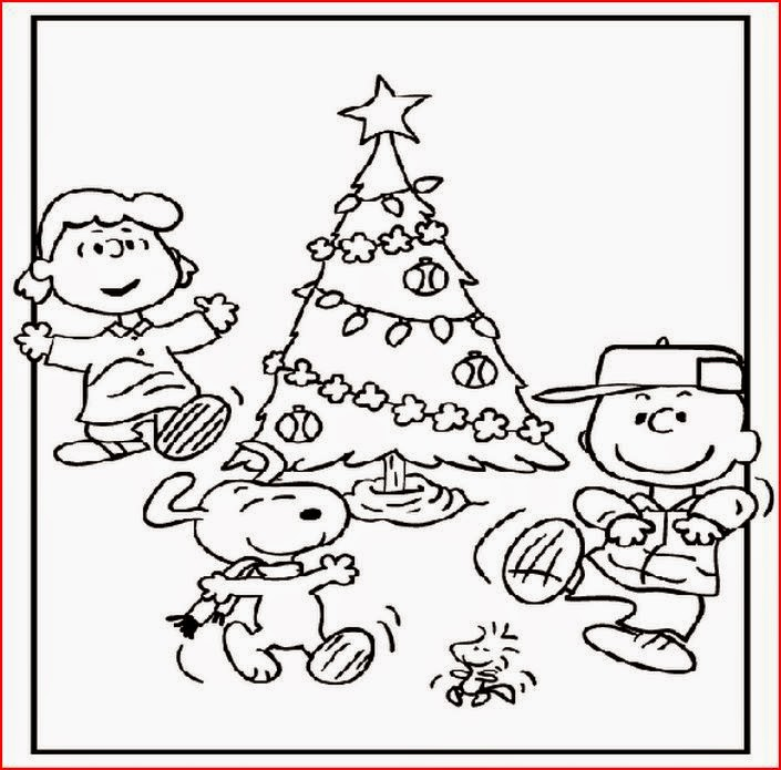 Coloring Pages: Charlie Brown Christmas Coloring Pages and Clip Art