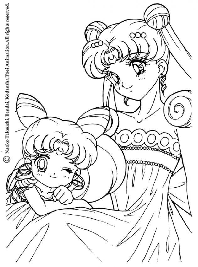 Silor Moon Coloring Pagrs | Creative Coloring Pages