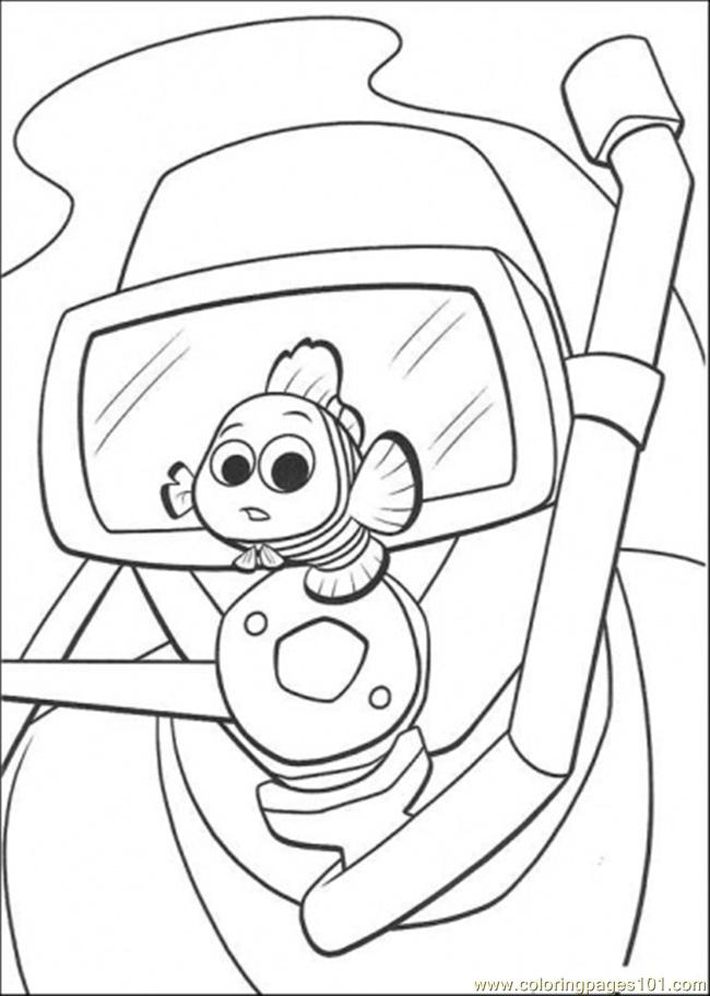 Coloring Pages Look At Nemo (Cartoons > Finding Nemo) - free ...