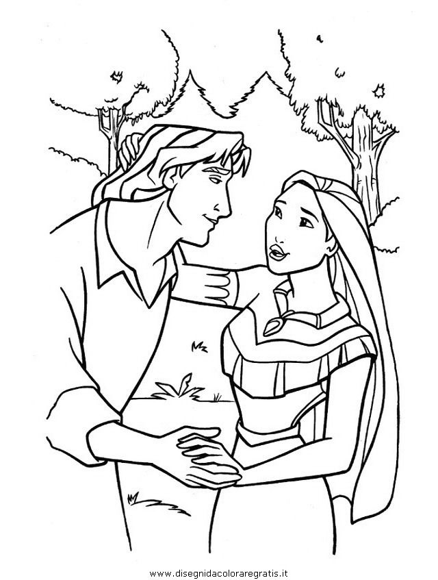 Pocahontas Coloring Page | Pocahontas dinner | Pinterest