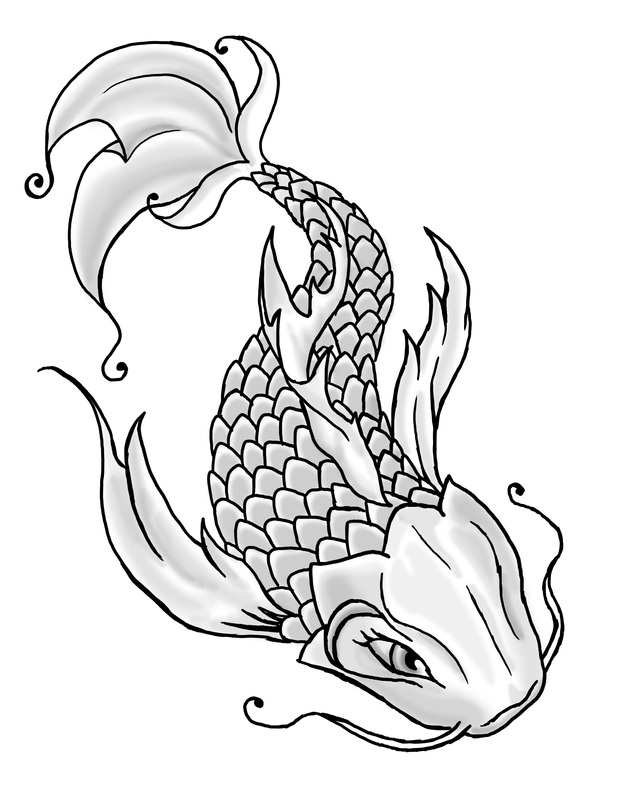JMDunn Art and Animation: Koi Fish Tattoo