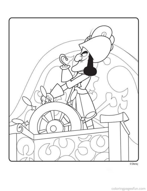 Jake and the Never Land Pirates Coloring Pages 4 - Free Printable ...
