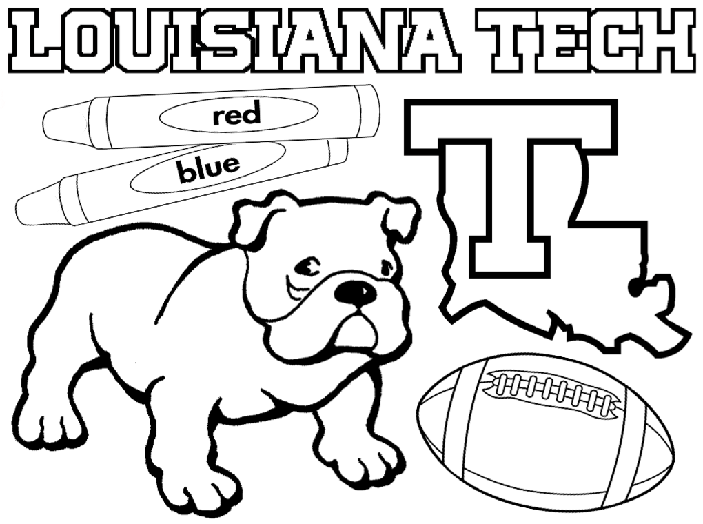 Colore isabella az colorare for College football coloring pages