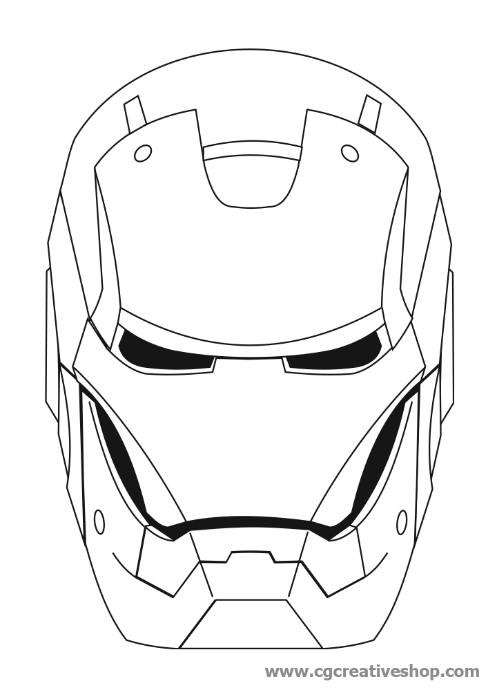 Iron man da colorare az colorare for Tony stark coloring pages