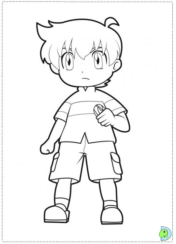 beyblade coloring pages gingka - photo#17