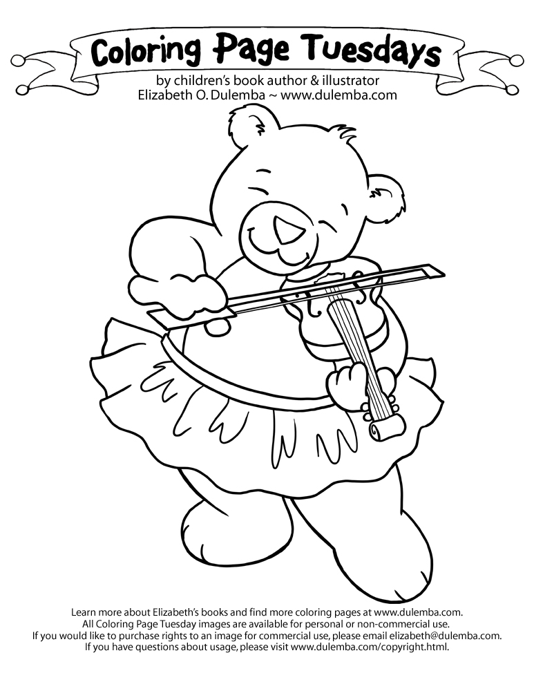 Children's Publishing Blogs - Coloring Page Tuesday blog posts