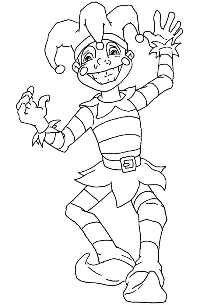 Kids' Carnival Coloring Pages | Mardi Gras New Orleans