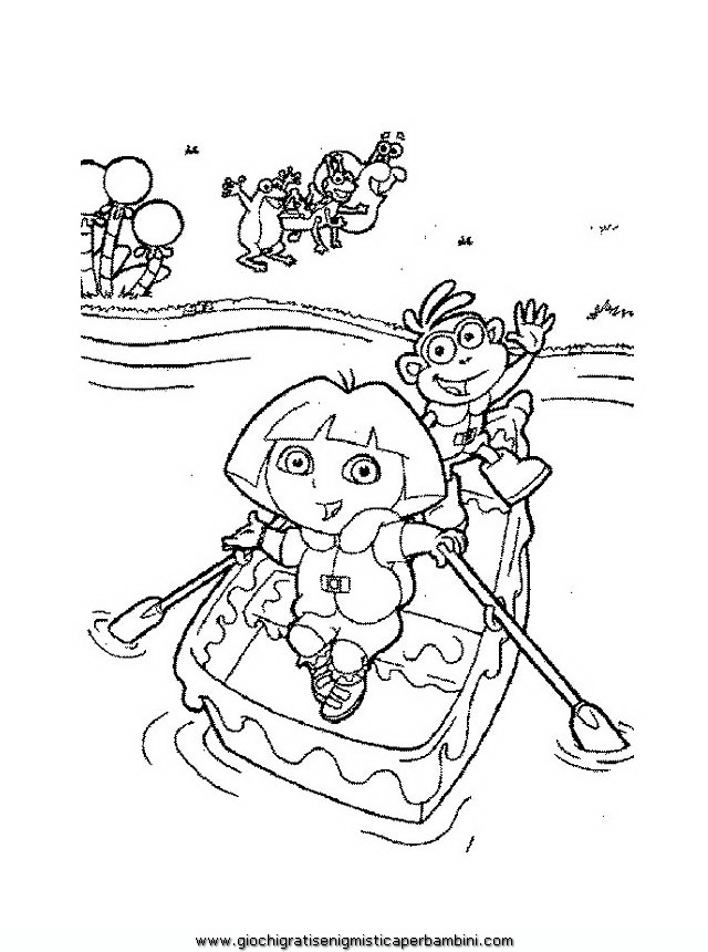 loracolor Colouring Pages