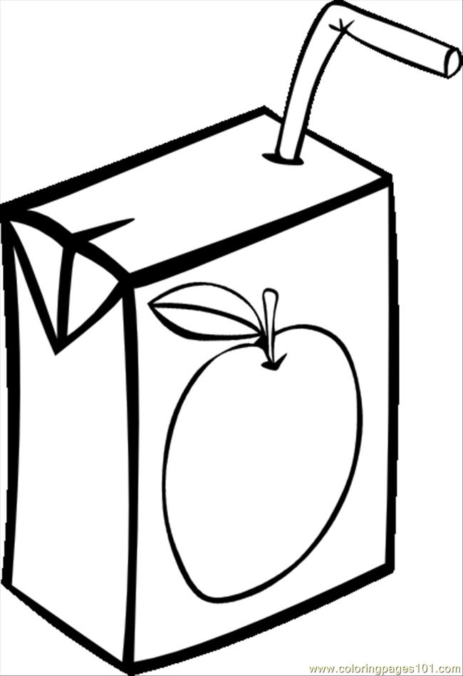 Coloring Apple Juice Crokky Coloring Pages