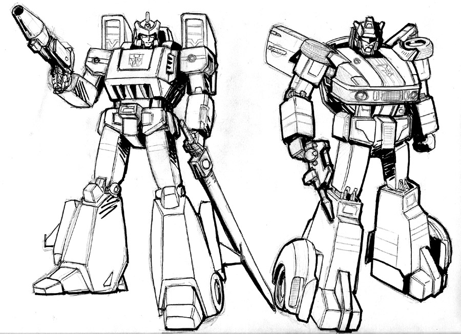 transformers: jazz colored by beamer on deviantART