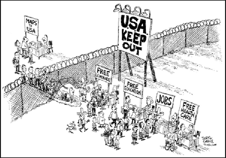 The Border Situation and What YOU Can Do | NE Tarrant Tea Party