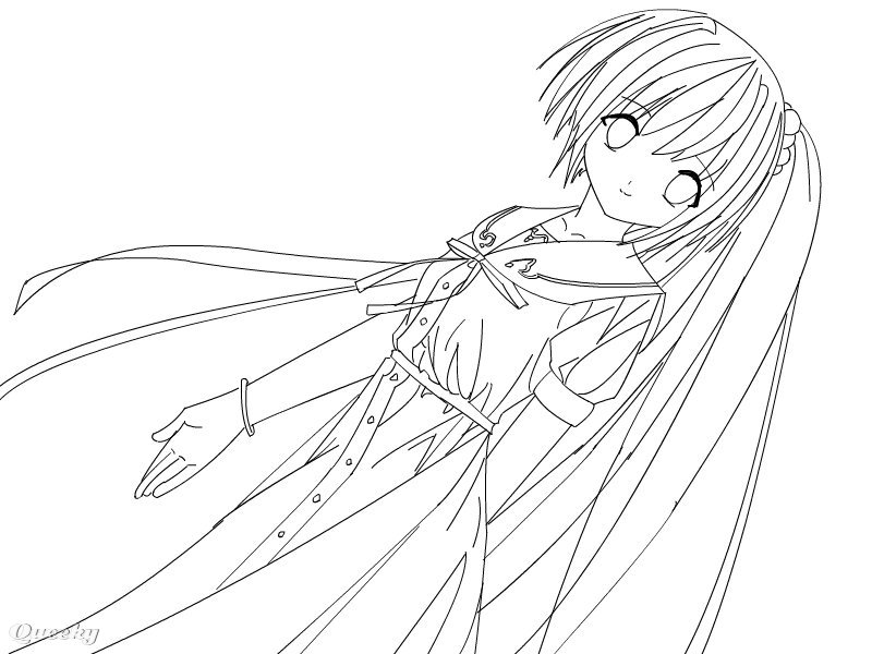 "Color me :3 ← an anime drawing by Demonickitty in group ""Anime ..."