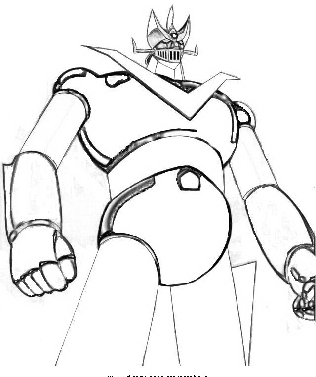 mazinger z coloring pages - photo#25