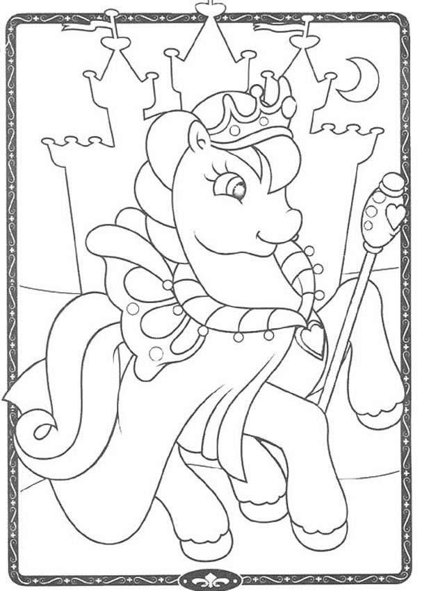 MY LITTLE PONY coloring pages - My Little Pony king