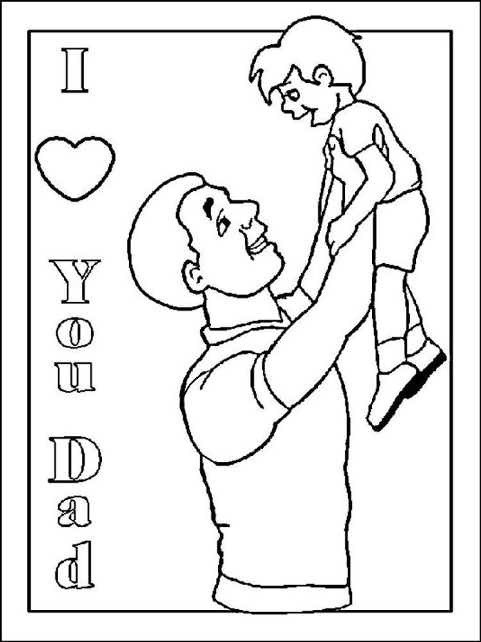 Father's Day Coloring fo Kids - Android Apps on Google Play