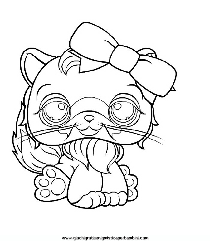 little pet shop Colouring Pages (page 2)
