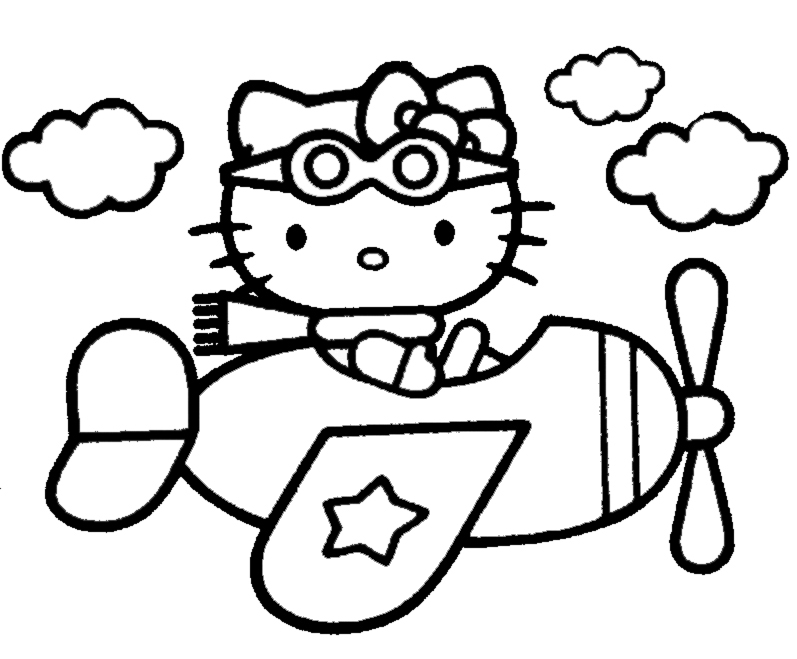Disegno Da Colorare Hello Kitty Az Colorare
