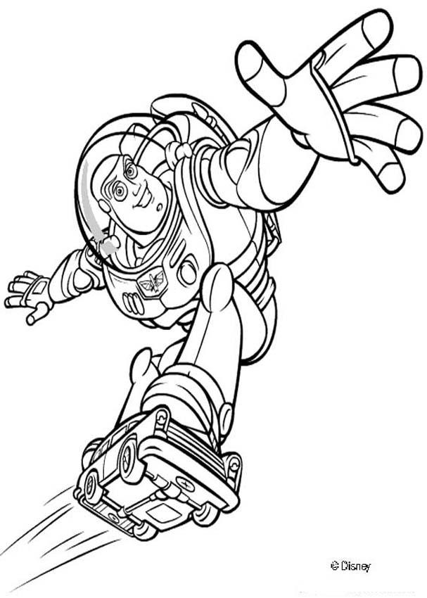 Toy Story coloring book pages - Toy Story 2