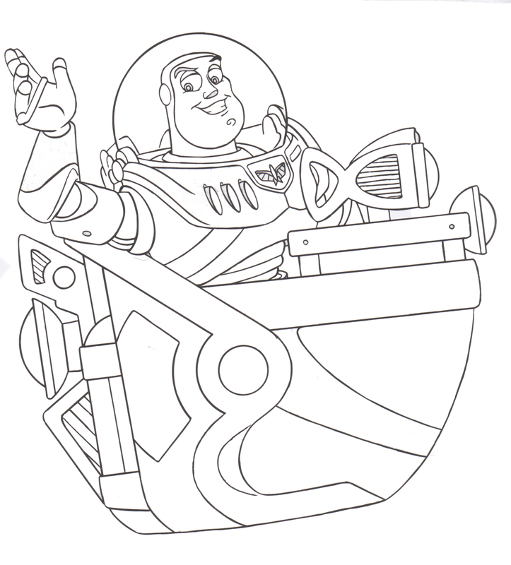 Free Love Quotes: Toy Story Woody and Buzz Lightyear Coloring Pages