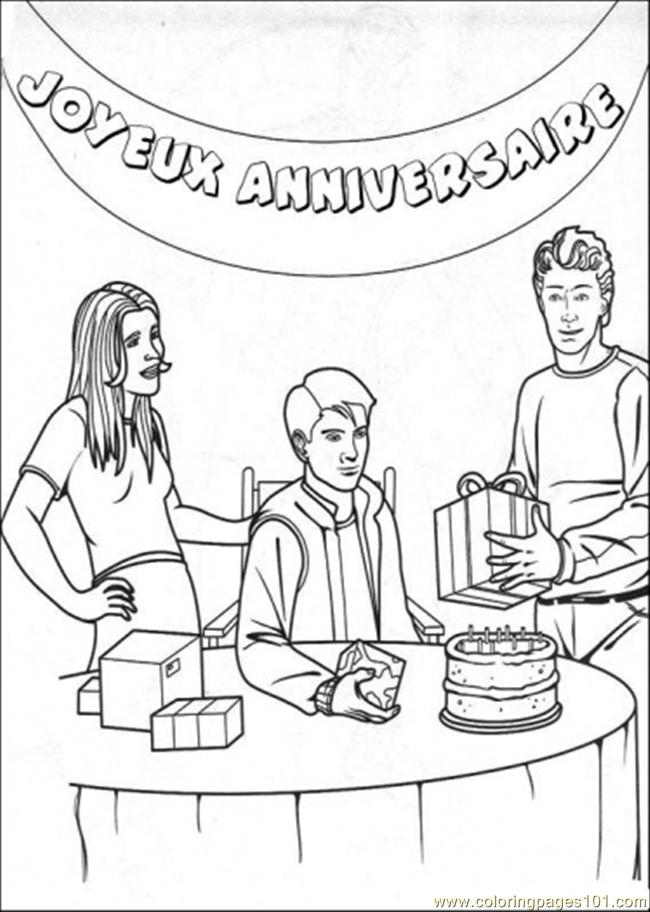 Coloring Pages Peter Have A Party (Cartoons > Spiderman) - free ...