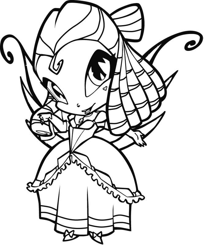 pixie amore Colouring Pages (page 2)