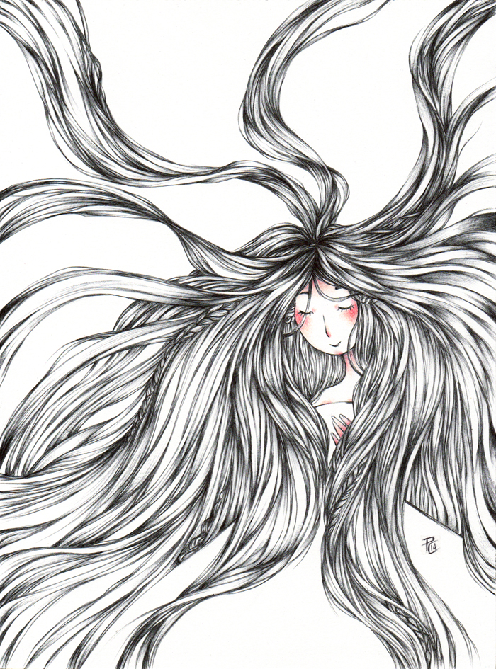 IllustrArt: Love is in the Hair