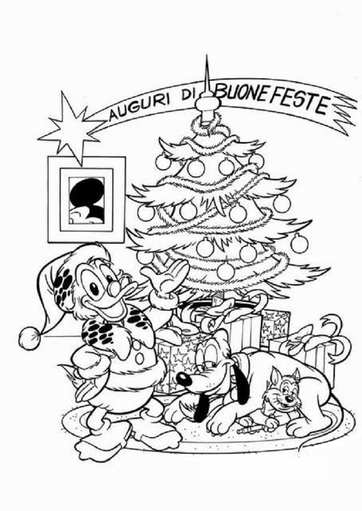 sauvage27: NATALE DISNEY DA COLORARE (Disney Christmas Coloring)