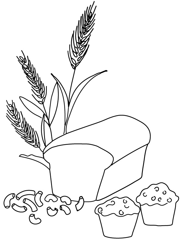 Coloring Pages For Wheat | Top Coloring Pages